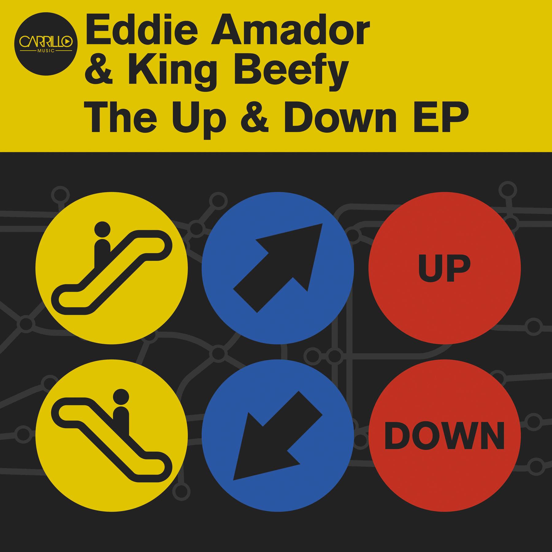 Eddie Amador and King Beefy Up and Down ep-12x12