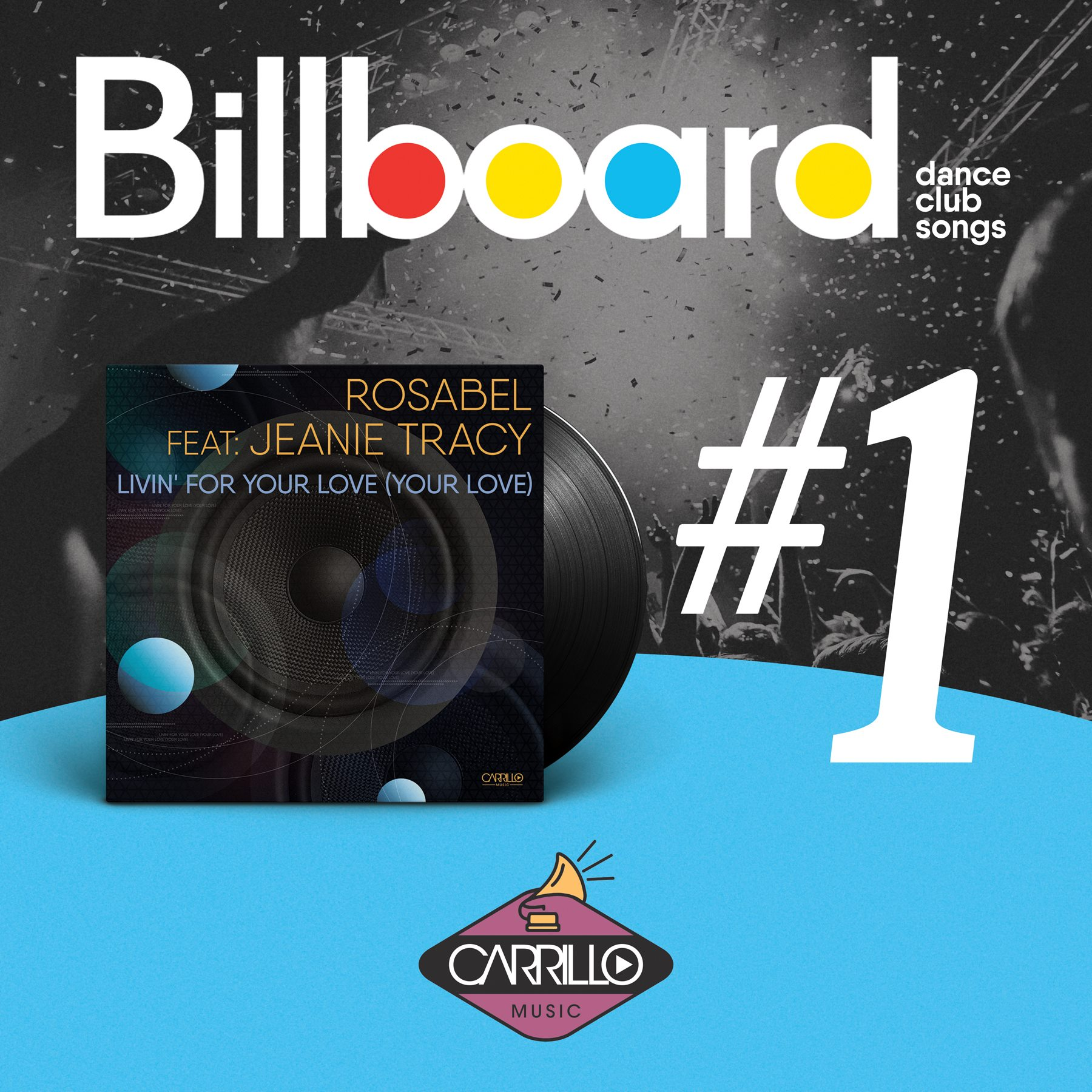 Rosabel Tops Billboard Dance Club Songs