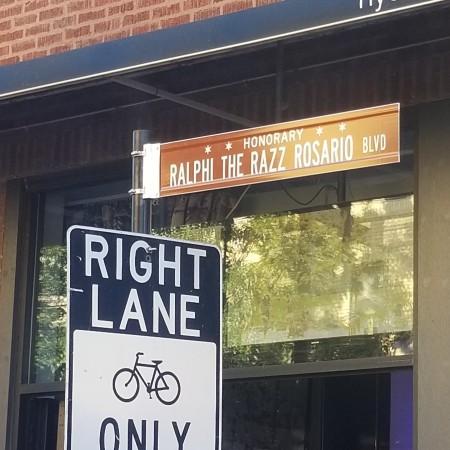 Ralphi Rosario Street Sign